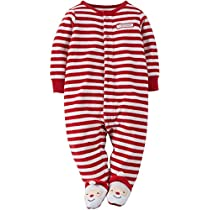 carters-red-and-white-striped-velour-snap-up-sleep-and-play-infant