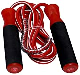 JSI Polyester Skipping Rope (JSI23__Red, Red)