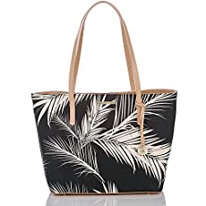 Avenue Tote<br>Black Palm