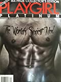 Playgirl Platinum Holiday 2014 Collectors Edition #70 Jumbo Edition 164 pages