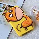 Lovely Cute Cartoon 3D Giraffe Soft Silicone Back Cases Covers for Apple iPhone 5 5G 5S Gift for Kids Girls Reviews
