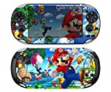 Super Mario 300 Vinyl Skin Sticker Cover Protector for Sony Playstation PS Vita PSV