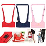 Walk Baby Walker Toddler Harness Assistant Activity Walking Safety Infant Jumper Bouncer Kid Toy Learn Belt Learning Stand Seat Moon Navy Blue Color