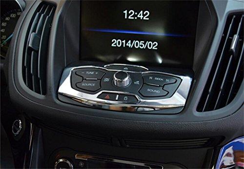 Vesul Chrome Center Control Panel Cover Trim For Ford Escape Kuga 2013 2014 (Ford Escape Panel compare prices)