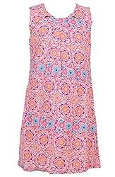 Trmpi Floral Dress for Girls