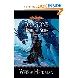 Dragons of the Highlord Skies (Dragonlance: The Lost Chronicles, Book 2) by