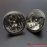 S CREATE(エスクリエイト) 高品質 クリスタルスモークヘッドライト ジムニー(SJ30 SJ40 JA51 JA71 JA11 JB31 JA12 JA22) / ガラスヘッドライト H4タイプ