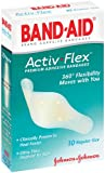 Band-aid Brand Adhesive Bandages Activ-flex Regular  10-Count (Pack of 6)