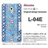 docomo Optimus G Pro L-04E ケース Optimus G Pro L-04E カバー ケース・ジャケット【花柄・ストライプ/l04e-M924】