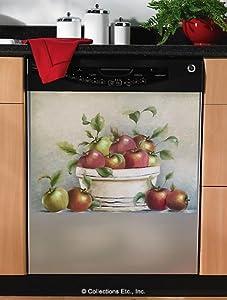 mesmerizing apple kitchen wall decor | Amazon.com : Apple Decor Magnetic Dishwasher Cover ...