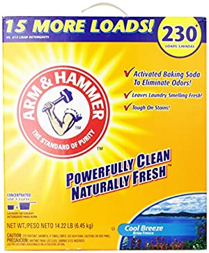 Arm & Hammer Laundry Detergent, Cool Breeze, 14.22 Lbs