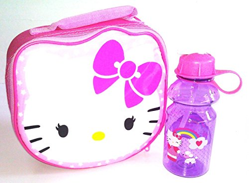 Hello Kitty Stars Lunch Bag with Bottle