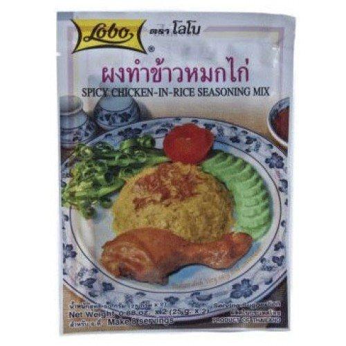 Lobo Spicy Chicken-In-Rice Seasoning Mix 50 G.