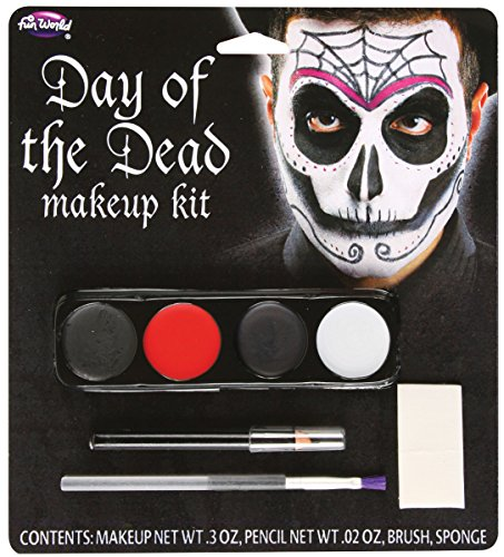 Day Of The Dead Male Makeup Kit - 1