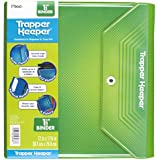 Mead Trapper Keeper 1.5 Inch Binder, 3 Ring Binder, Green (72678)