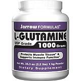 Jarrow Formulas L-Glutamine Powder, 1000g