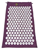 The Hopi Direct Purple Shakti Yantra Mat (Bed of Nails Mat) 100% Cotton, Most Acupressure Points ...