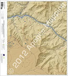 Phantom Ranch Arizona 7 5 Minute Topographic Map