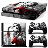 Ps4 Playstation 4 Console Skin Decal Sticker Harley Quinn 2 Controller Skins Set