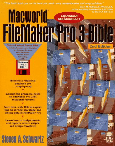 MACWORLD FILEMAKER PRO 3 BIBLE, 2E