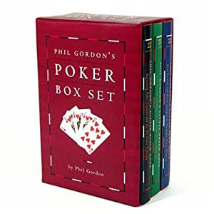 Phil Gordon Poker Tips | Little Green Book, Blue Book, Black Book Picture