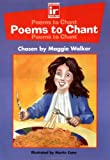 Poems to Chant (Inclusive Readers)