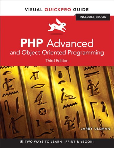 PHP Advanced and Object-Oriented Programming 0321832183 pdf