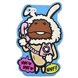カスタムカバー シリコン フィギュア iPhone5 (白ウサギなめこ)