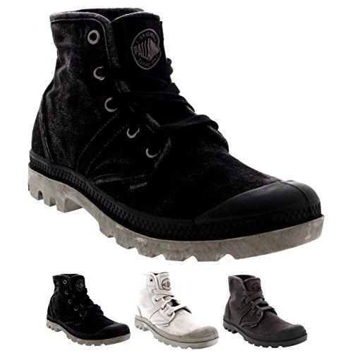Womens Palladium Pallabrouse Gusset Boots Biker High Top Sneakers