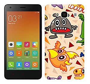 WOW Printed Designer Mobile Case Back Cover For XIAOMI MI REDMI 2 / REDMI 2 PRIME