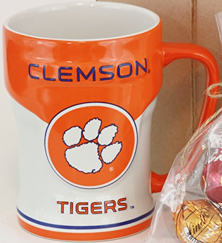Clemson Tigers 12oz Sculpted Varsity Mug
