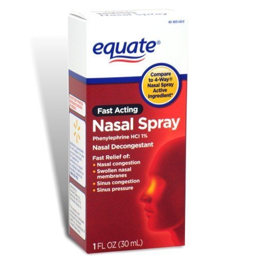 Equate - Nasal Four, Phenylephrine Hydro