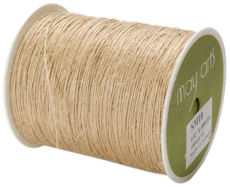 Read About May Arts Ribbon, Natural Burlap String
