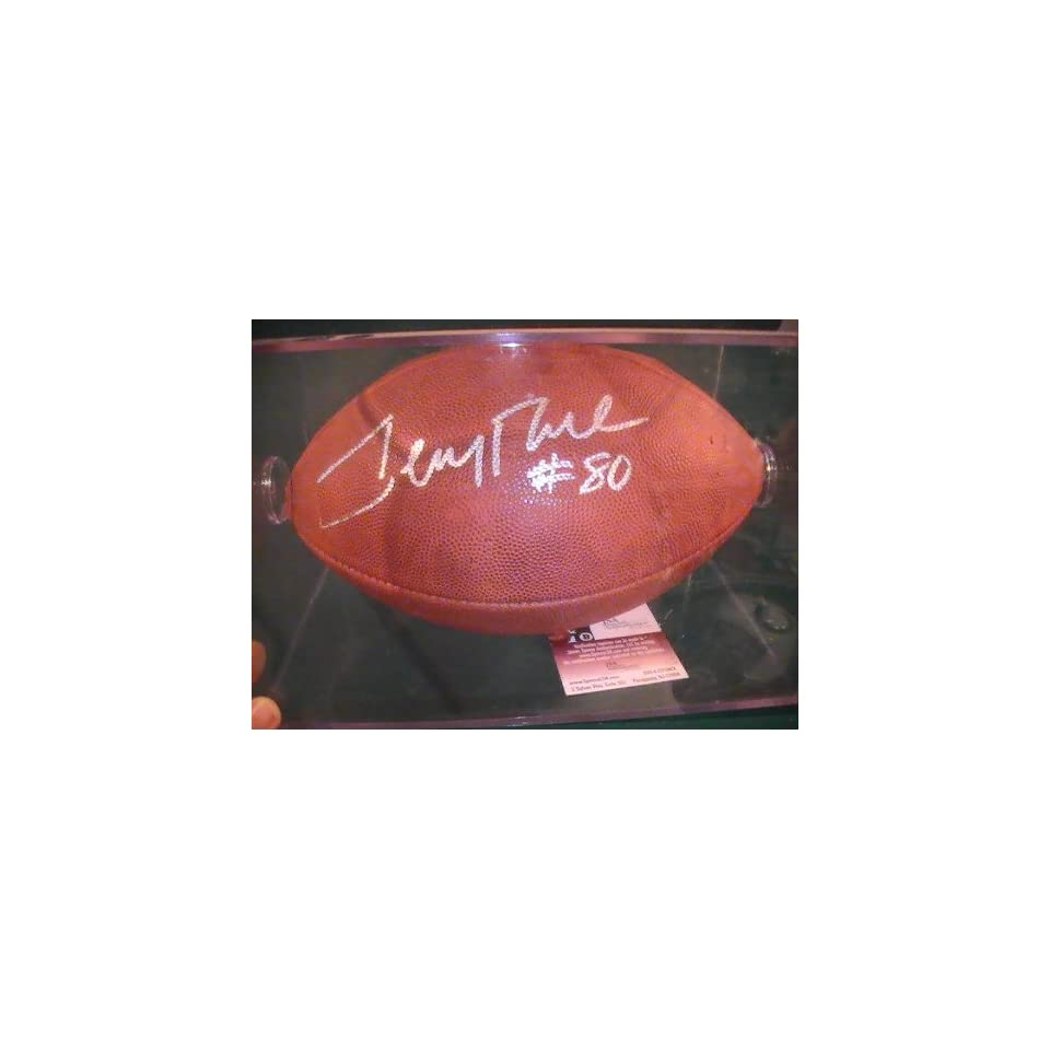 f2fd8044d Jerry Rice San Francisco 49ers Jsa Coa Signed Autographed Full Size ...