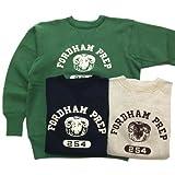 (ウエアハウス) WARE HOUSE 11-403FORDHAM フリーダムクル―スウェット『FORDHAM PREP』 38(M) ネイビー