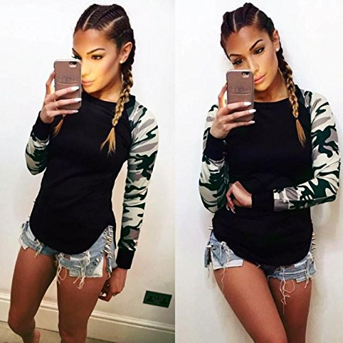 Casual-T-Shirt-OverDose-Manches-Longues-Femmes-Tops-Chemise-Blouse