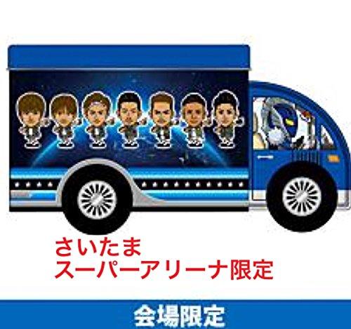 """三代目J Soul Brothers LIVE TOUR 2015 """"BLUE PLANET"""" 公式グッズ【さいたまスーパーアリーナ限定 トラック缶】+銀テープ 2点セット"""