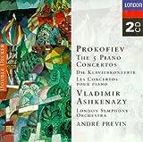 Prokofiev: The Five Piano Concertos cover image