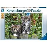 Ravensburger 14147 - Kätzchen auf der Lauer - 500 Teile Puzzle