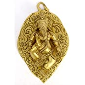 God Pan With Bal Ganesh Wall Hanging By Vyomshop
