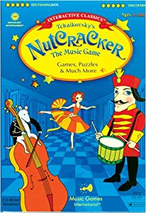 Tchaikovsky's Nutcracker, Full Version with 16 Game Areas, Windows Only CD-ROM