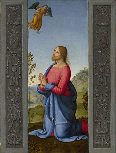 the-high-quality-polyster-canvas-of-oil-painting-lo-spagna-christ-at-gethsemane1500-5-size-10x13-inc