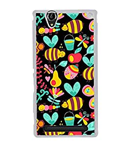 Cute Wallpaper 2D Hard Polycarbonate Designer Back Case Cover for Sony Xperia T2 Ultra :: Sony Xperia T2 Ultra Dual SIM D5322 :: Sony Xperia T2 Ultra XM50h