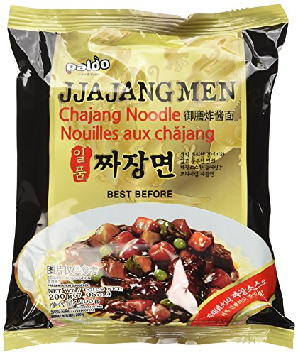 Paldo Jjajangmen Chajang Noodle Vegan No MSG 4-pack