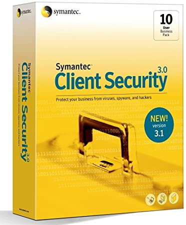 Symantec Client Security 3.1 with Groupware Protection Business Pack 10 User