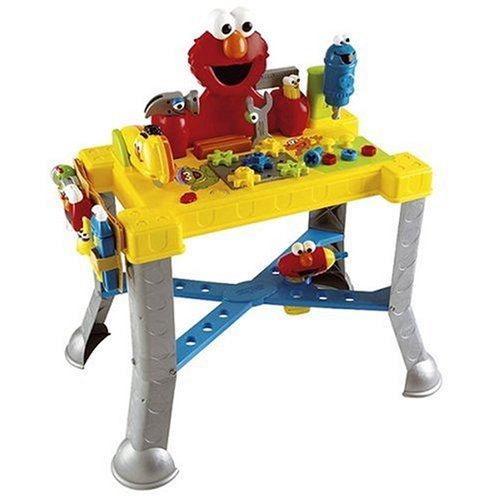 Sesame Street Toys For Toddlers : Sesame street sing n giggle tool bench baby toys