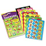 Trend Entp Stinky Stickers Variety Pack, Smiley Stars, 432/Pack