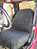 SALE-BLACK Car and Truck Towel Seat Cover Keeps your seats clean, Stay comfy in heat and cold, Easy cleanup,Washable absorbant, Flexable straps for easy On/Off
