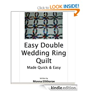 double wedding ring quilt pattern free