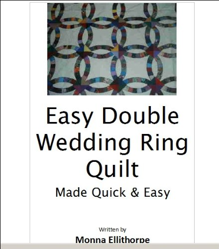 Cheap Easy Double Wedding Ring Quilt Pattern Cheap